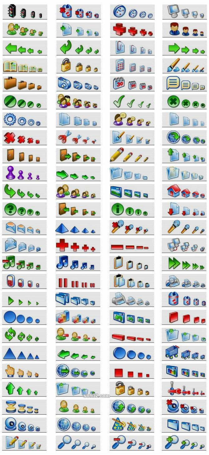 Software Icons - Professional XP icons for software and web Screenshot 2