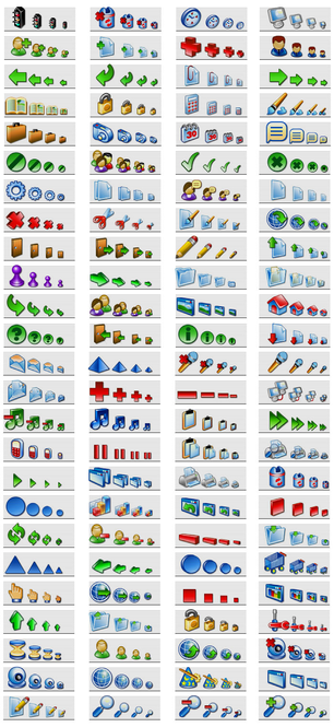 Software Icons - Professional XP icons for software and web Screenshot