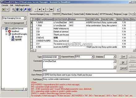 VisualGSM Enterprise SMS Gateway Screenshot 2