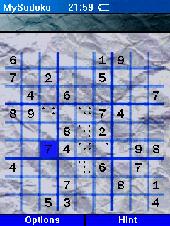 MySudoku Screenshot