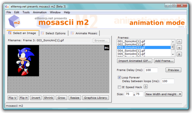 mosascii m2 Screenshot
