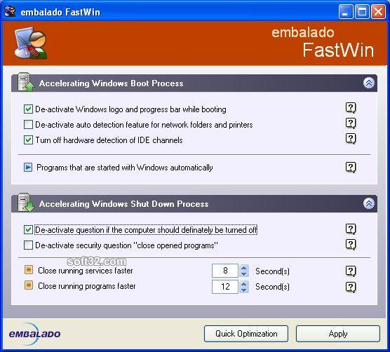 FastWin Screenshot