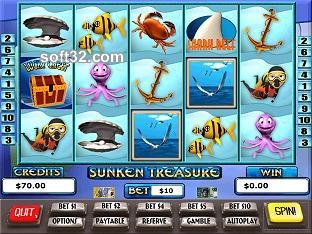 Sunken Treasure Slots / Pokies Screenshot 3
