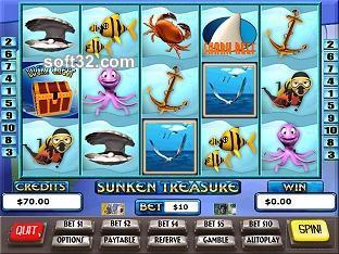 Sunken Treasure Slots / Pokies Screenshot 3