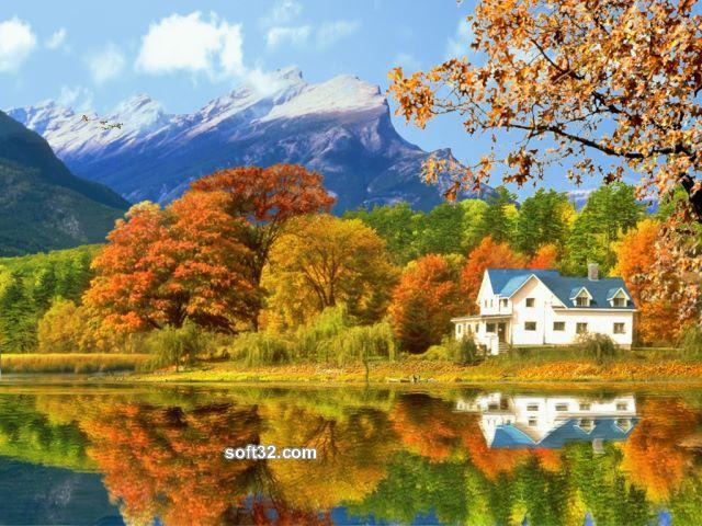 Gorgeous Fall Foliage 3D Screensaver Screenshot 1