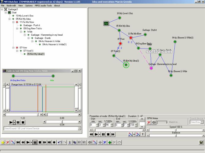MP3 Butcher Screenshot 3