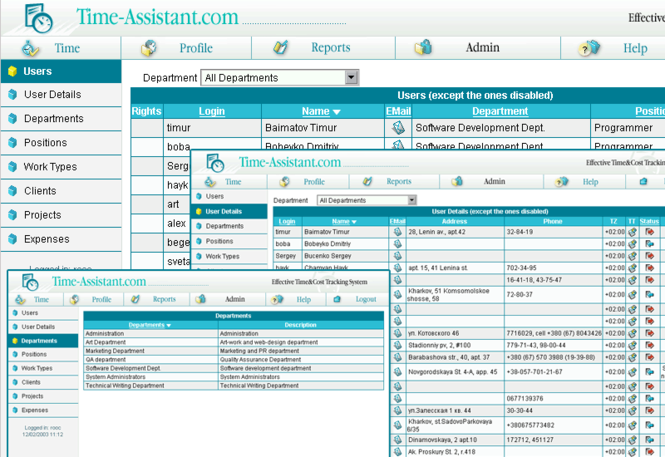 Time-Assistant Screenshot