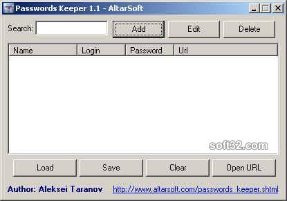 Passwords Keeper Screenshot 3