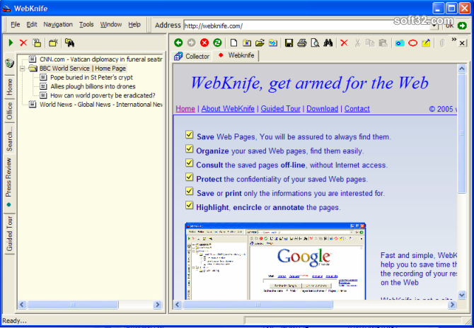 WebKnife Screenshot 1