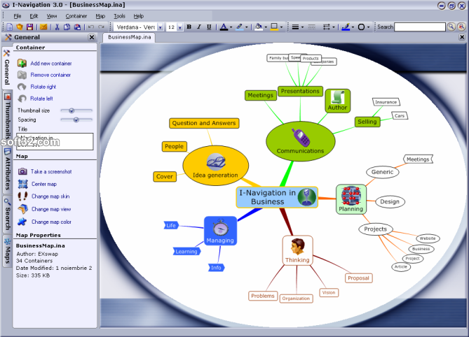 I-Navigation Screenshot 1