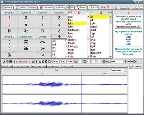 American English Pronunciation Patterns Screenshot 1