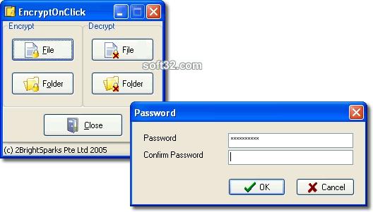 EncryptOnClick Screenshot 2