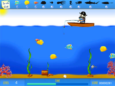 Crazy Fishing Screenshot