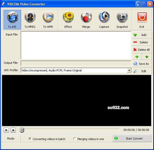 VISCOM Video Converter Screenshot 3