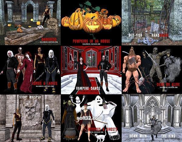 Jigetiser(tm) Calendar - Halloween 2005 Screenshot