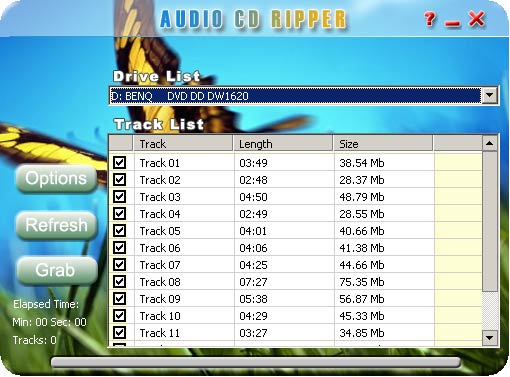 Solidlabs Audio CD Ripper Screenshot