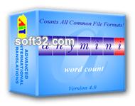 AnyMini W: Word Count Software Screenshot 2