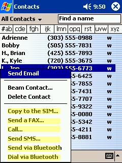 Pocket PhoneTools Screenshot