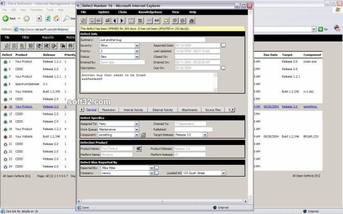 Defect Manager Screenshot 3