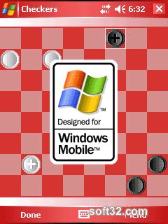Orneta Checkers for Windows Mobile 5.0 Pocket PC Screenshot 3