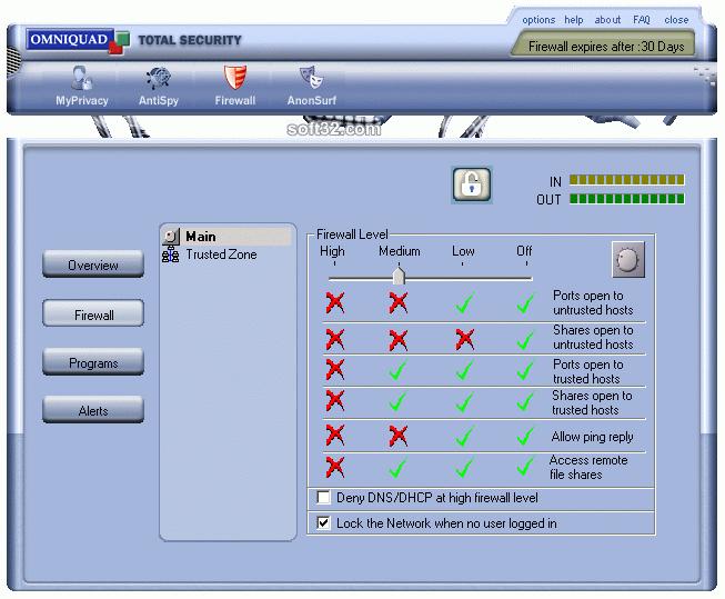 Personal Firewall Screenshot 3