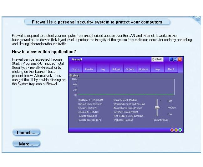 Personal Firewall Screenshot