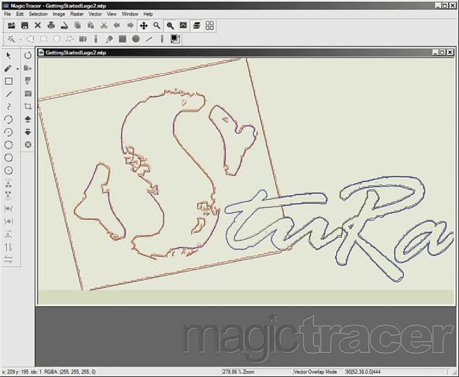 MagicTracer Screenshot