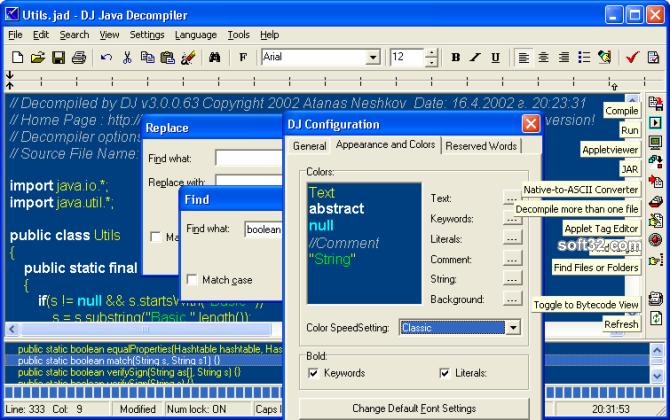 DJ Java Decompiler Screenshot 3