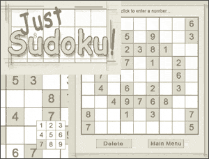 Just Sudoku Screenshot