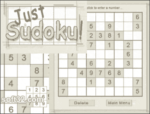 Just Sudoku Screenshot 3