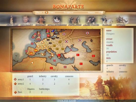 Bonaparte Screenshot