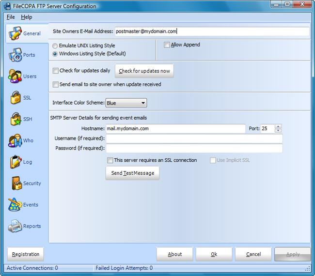 FileCOPA FTP Server Screenshot 1