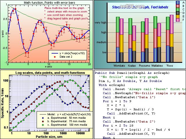 ecGraph Screenshot 2