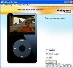 iPod Media Studio Screenshot 2
