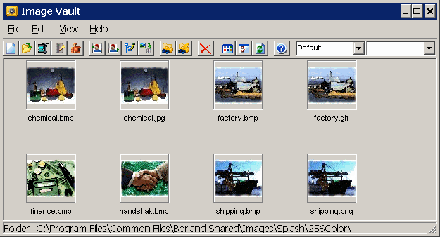 Image Vault Screenshot 1