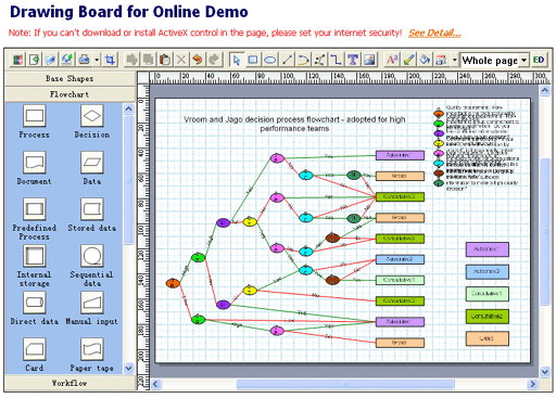 Drawing Board ActiveX Control Screenshot