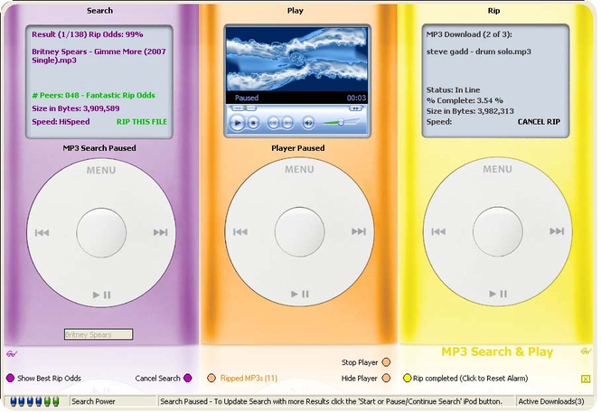 MP3 Search & Play PRO Screenshot