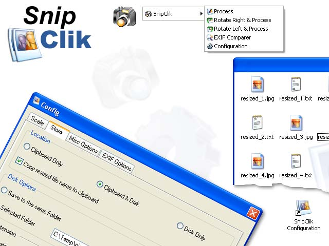 SnipClik Screenshot