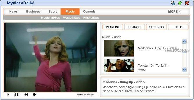 MyVideoDaily Screenshot 1