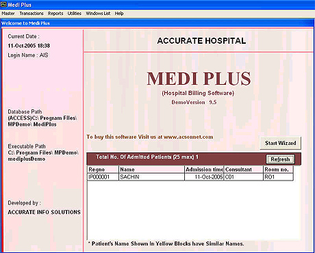 MEDIPLUS Screenshot