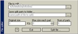 File Spliter Screenshot 2