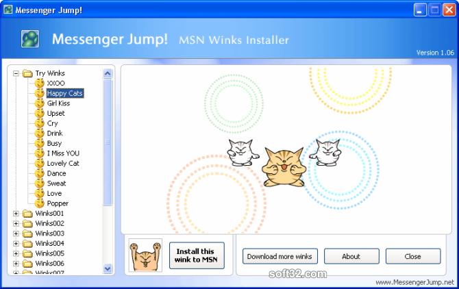 Messenger Jump! MSN Content Installer Screenshot 3