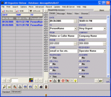 Message Organizer Deluxe Screenshot