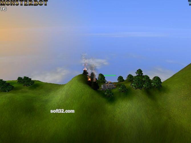Scorch an Island Screensaver Screenshot 3