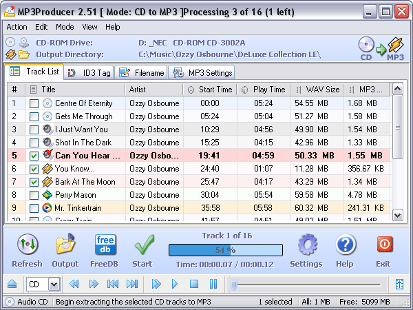 MP3Producer FR Screenshot 1