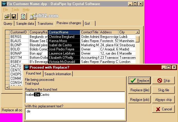DataPipe Screenshot 2
