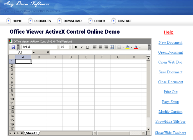 Excel ActiveX Screenshot 1