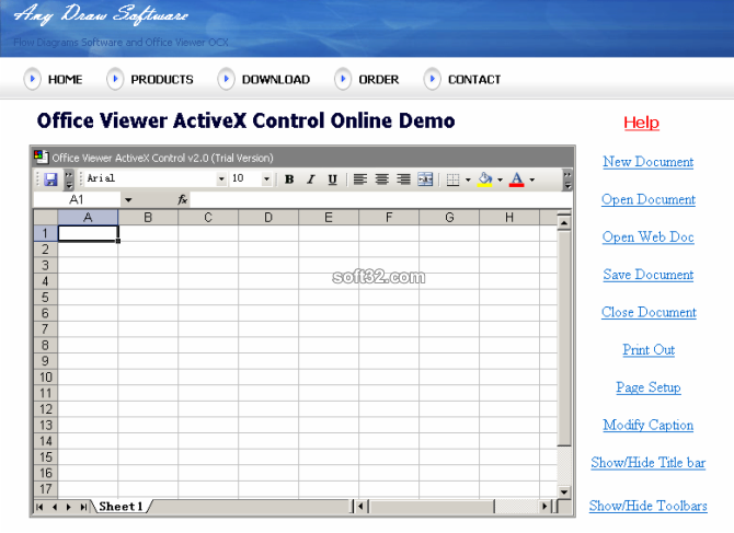 Excel ActiveX Screenshot 3