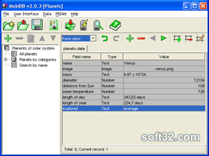 BarbusLab MobiDB Screenshot 2