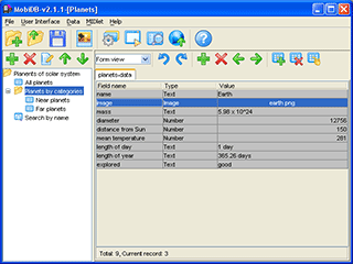 BarbusLab MobiDB Screenshot